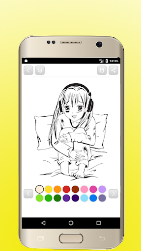 Anime Manga Coloring Books 1.9 screenshots 5