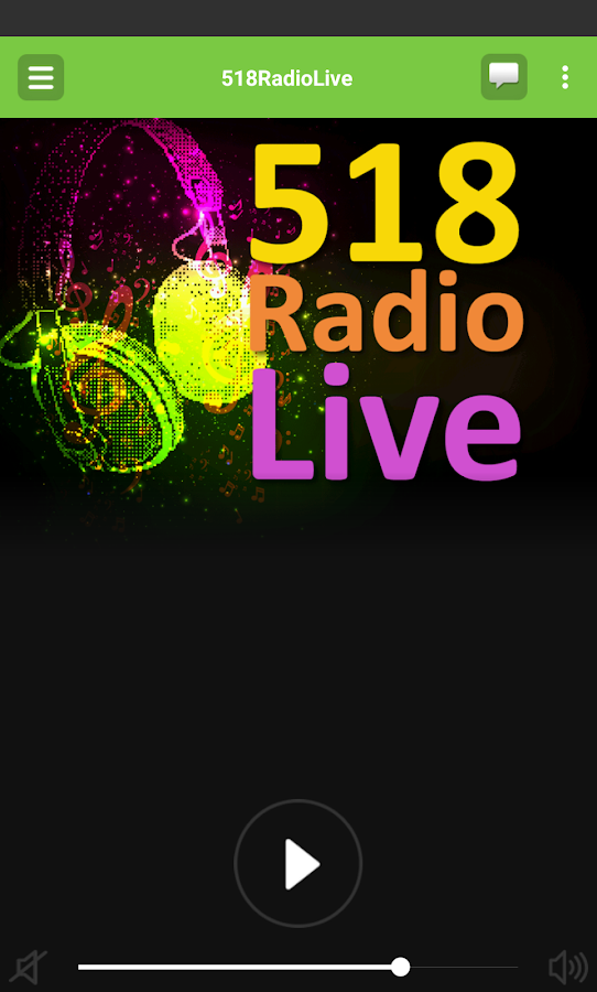 518RadioLive- screenshot