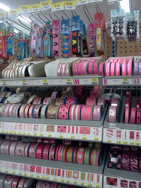Photo: Can I just say how much I LOVE that Walmart has expanded their craft department!  Yay!