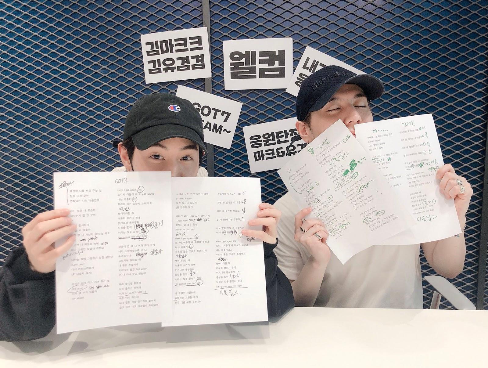 Mark and Yugyeom 2
