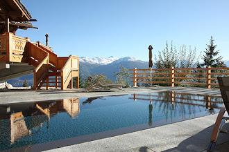 Photo: The chic LeCrans Hotel & Spa.
