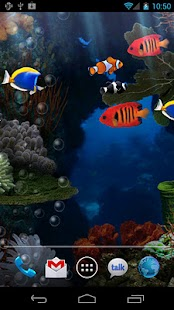 Aquarium Live Wallpaper Gratis Screenshot