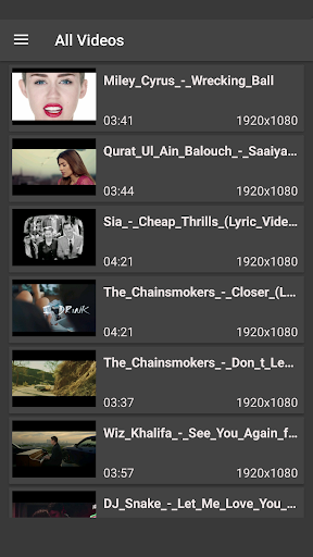 Full HD Video Player 1.1 screenshots 2