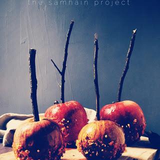 Spritz Caramel Apples