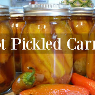 Hot Pickled Carrots