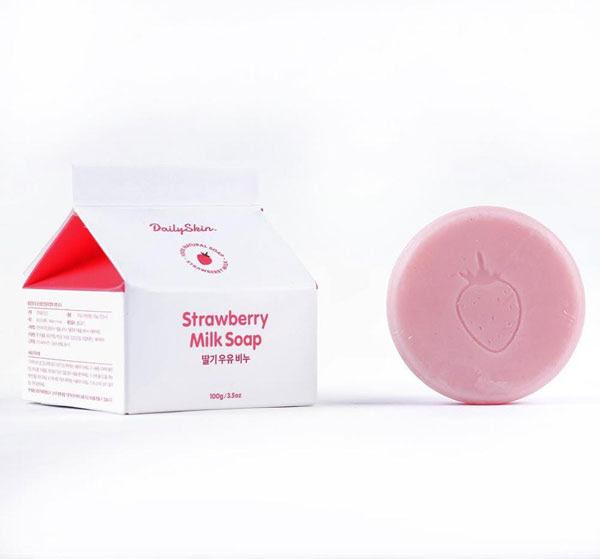 Sabun StrawBerry Korea Untuk Sabun Mandi Susu
