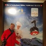 Ski Lodge Bar in Engelberg, Obwalden, Switzerland