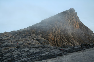 Photo: Low's Peak, the highest point of Mt Kinabalu & Malaysia. 4,095.2 meters or 13 435.7 feet.