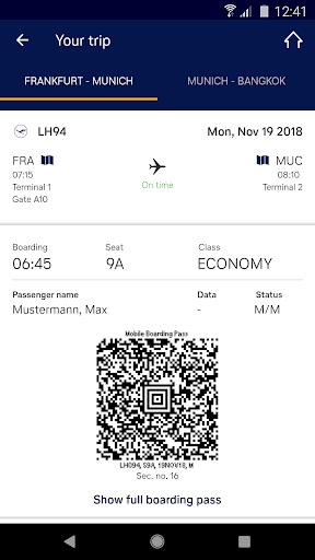 Lufthansa 7.7.0 screenshots 2