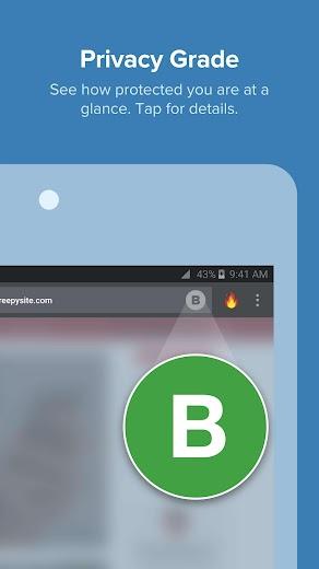 Screenshot 2 for DuckDuckGo's Android app'