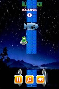 flappy aliens - náhled