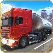 Oil Cargo Transport Truck