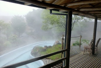 Photo: At Termas Papallacta it was foggy and rainy in the morning
