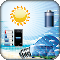 Mobile Solar Battery Prank icon