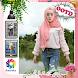OOTD Hijab jeans Photo Editor