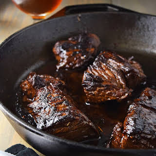 Marinated Steak Tips Recipe with Beer Teriyaki Marinade.