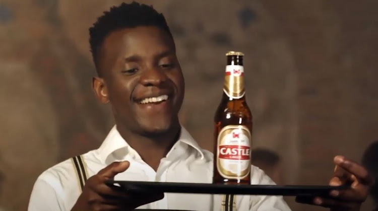 The waiter in a TV commercial for Castle Lager, which attracted a complaint to the ad watchdog about the use of the national anthem.