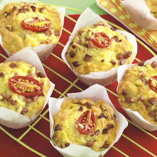 Bacon and Cheese Muffins.