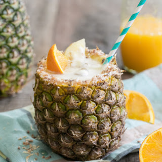 Toasted Coconut Pineapple Cocktail