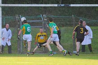 Photo: Action from Bornacoola v Drumreilly, SFC 2012