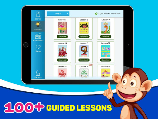 Monkey Stories: books, reading games for kids for PC