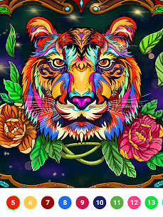 Super Color – Paint by Number, Free Puzzle Game For PC Windows 10 & Mac 10
