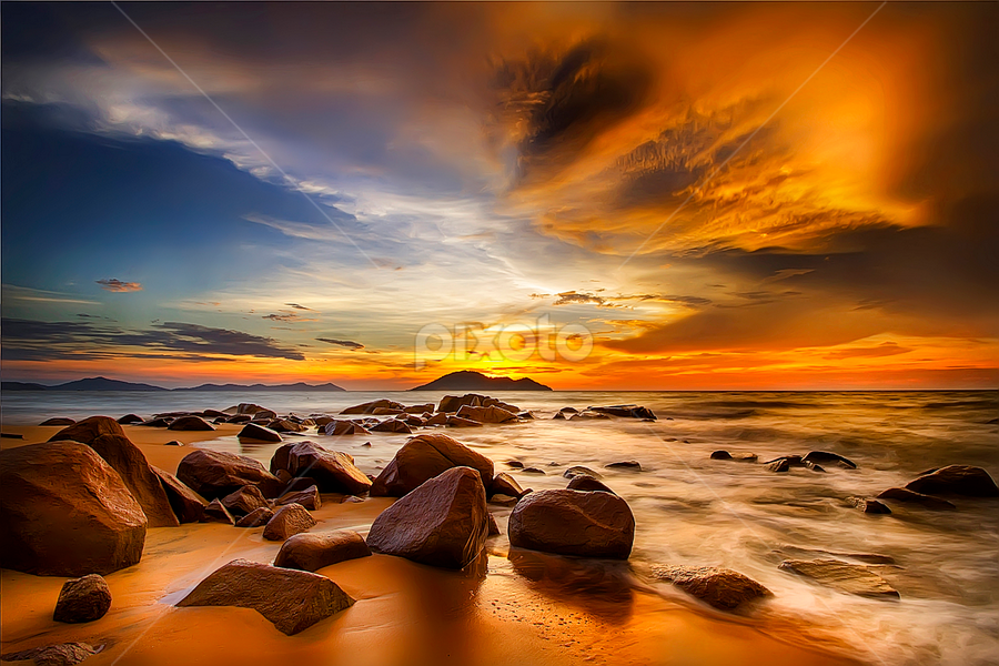 Senja Emas by Dany Fachry - Landscapes Beaches