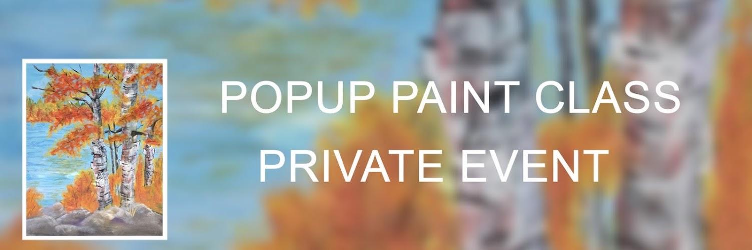 Popup Paint Party