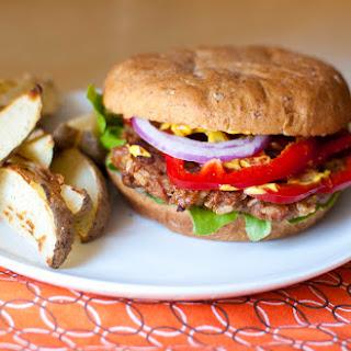 BBQ Vegan Burgers.