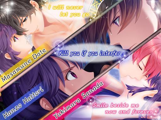Sengoku love | Otome Dating Sim Otome game  captures d'écran 2