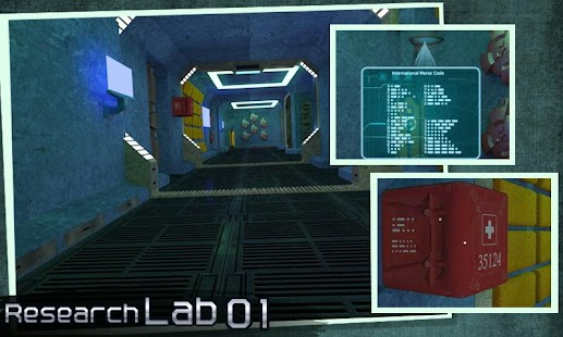 Escape Puzzle: Research Lab - náhled