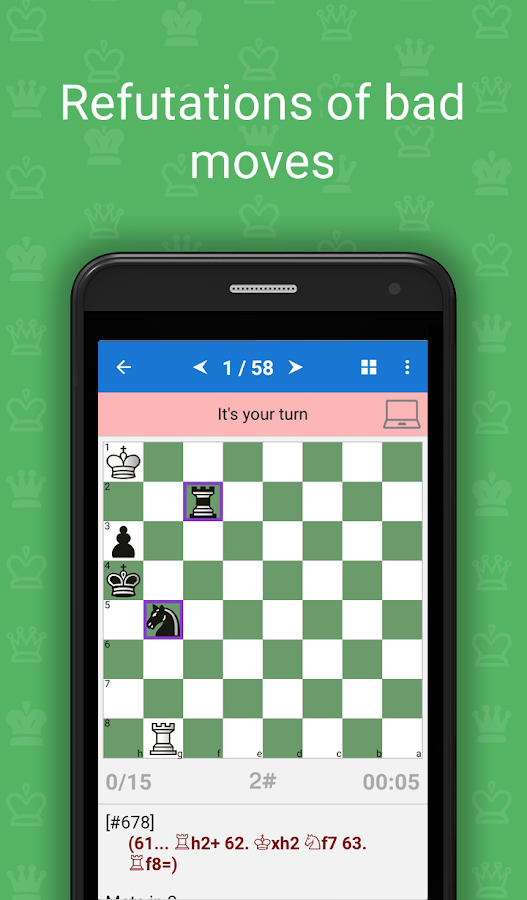 Mate in 2 (Free Chess Puzzles)- screenshot