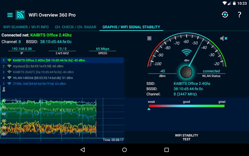WiFi Overview 360 Pro Screenshot 13
