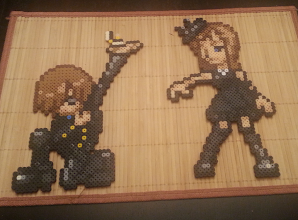 Photo: Super awesome beadsprites by iconcrausse. Don't these take you back to the good ol' days?