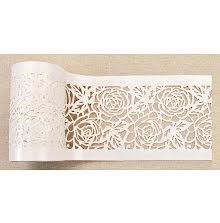 Prima Redesign Stick & Style Stencil Roll 4X15yd - Tea Rose Garden