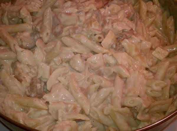 Mushroom Chicken Alfredo Recipe