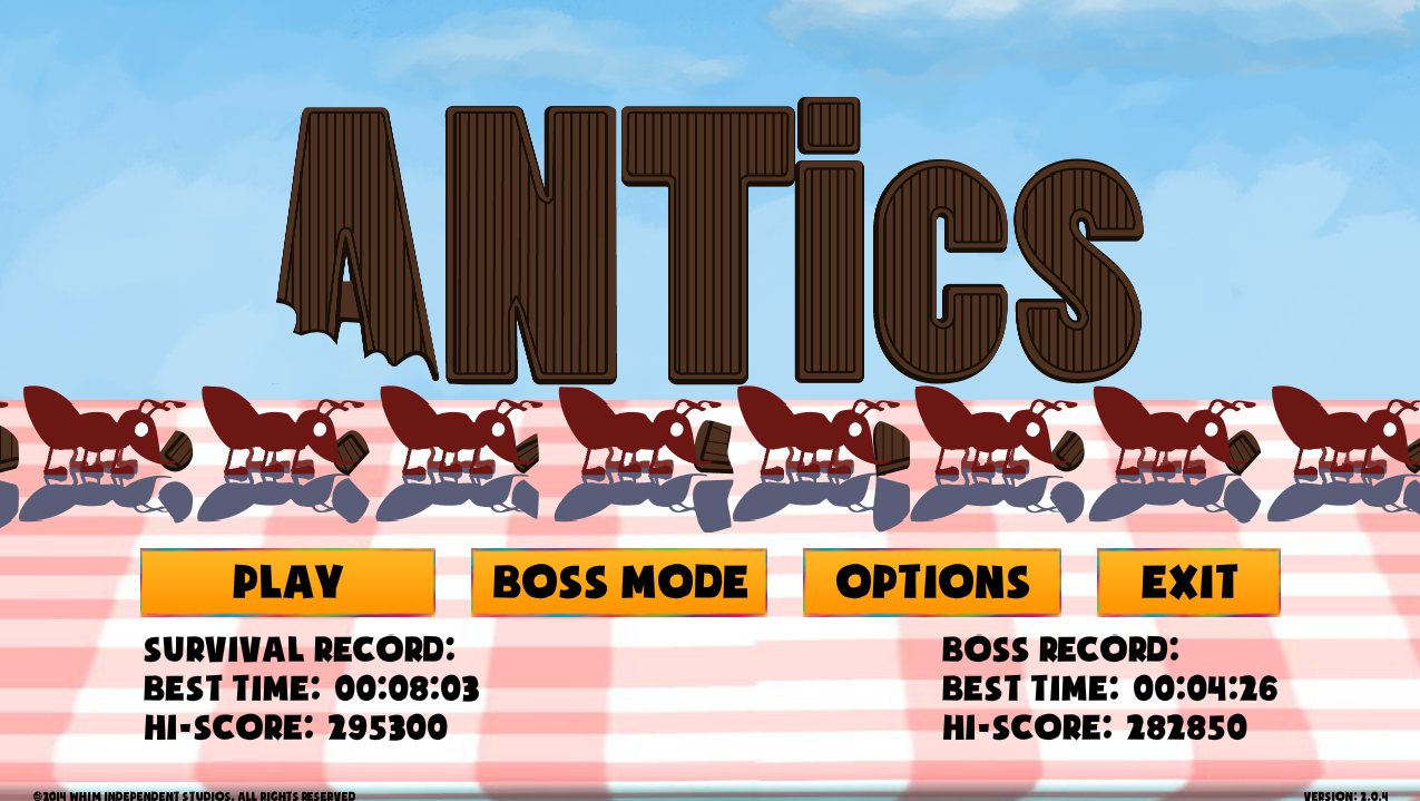 ANTics: Lite- screenshot
