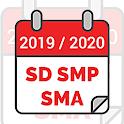 Kalender Pendidikan 2020/2021 SD SMP SMA icon