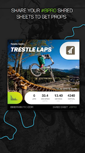 BikeParkPRO - Downhill GPS- screenshot thumbnail