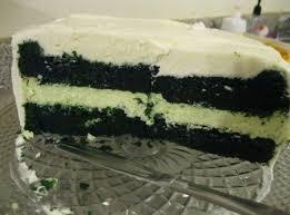 Green Velvet Cheesecake Cake Recipe