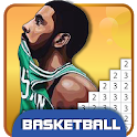 Basketball Pixel Art Coloring - Color by Number icon
