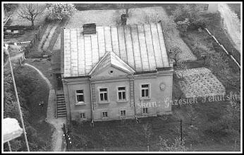 Photo: Rudnicka plebania, zdjęcie wykonane z rusztowań otaczających kościół parafialny