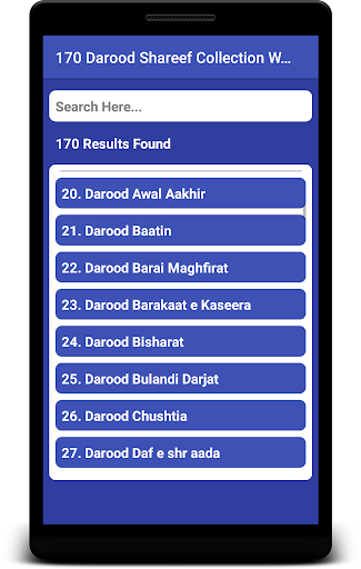 170 Darood Shareef Collection Wazaif and Fazail App Report