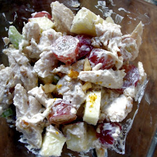 Skinny Chicken Waldorf Salad