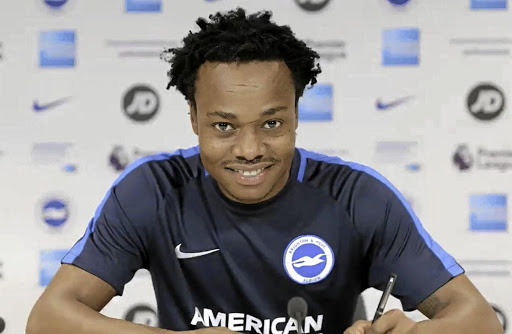 Percy Tau is happy with his Brighton deal as well as loan move to Belgian lower division.