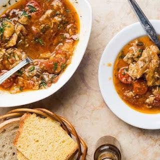 Portuguese Squid, Bean, and Sausage Stew (Feijoada De Lulas) Recipe