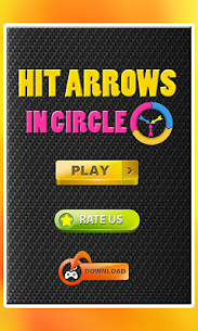 Hit arrows in circle 5