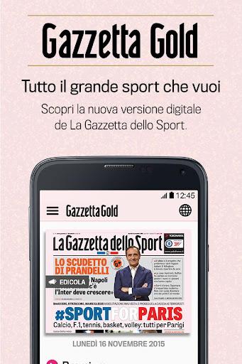 Gazzetta Gold v4.4.4 [Subscribed]