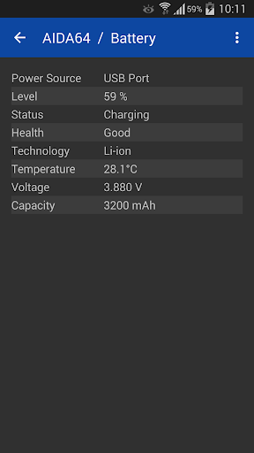 AIDA64 1.67 Apk for Android 5
