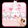Lovely Cute Kitty Keyboard